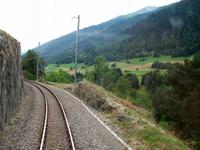 Fahrt mit dem Glacier- Express