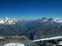 Auf dem Klein- Matterhorn