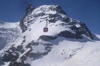 Fahrt auf das Kleine Matterhorn