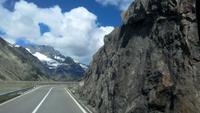 Fahrt über den Grimselpass