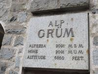 Glacier-Bernina-Reise, Fahrt mit dem Bernina-Express - Stopp an der Alp Grüm