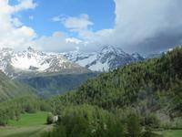 Glacier-Bernina-Reise, Fahrt über den Bernina-Pass