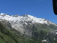 Glacier-Bernina-Reise, Fahrt zum Säntis - Fahrt auf der Grimsel-Pass-Straße