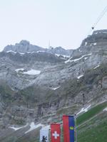 Glacier-Bernina-Reise, Blick zum Säntis