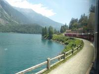 Die Bahn und der Lago di Poschiavo