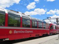 Fahrt mit dem Bernina-Express - Stopp auf der Alp Grüm
