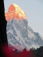 Zermatt -Sonnenaufgang