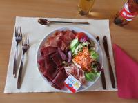 Zermatt -  Folklore-Abend auf Sunegga - die Vorspeise