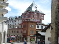 Spaziergang durch St. Moritz