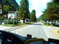 Auf dem Weg zurück nach Davos
