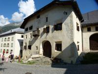 Typische Häuser von Guarda