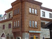Das Hotel von J. Badrutt