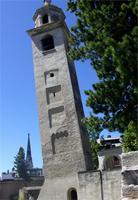 Der schiefe Turm von St. Moritz