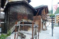 Alte Walliser Häuser