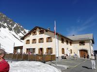 Fahrt von Davos nach St. Moritz, Flüela Pass