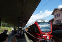Unser Zug nach Tirano