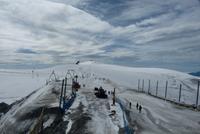 Auf italienischer Seite wird Ski gefahren