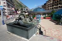 Der Murmeltierbrunnen