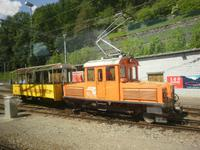 auf dem Bahnhof in Poschiavo