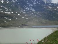 auf dem Bernina-Pass