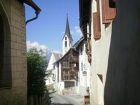 Guarda - Dorf im Engadin