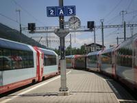 Bahnhof Disentis