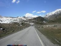 Straße zum Julier-Pass