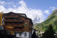 unser Hotel in Zermatt