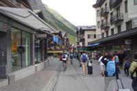 Bahnhofstrasse in Zermatt