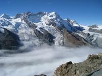 09 über dem Gornergletscher