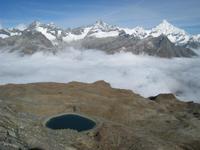 10 Blicke zum Weißhorn