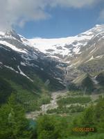 Der Morteratsch Gletscher