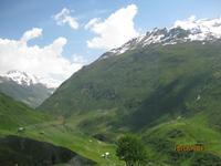 Mit dem Glacier Express unterwegs