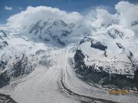 Der Gornergrat Gletscher