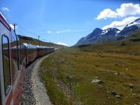 Fahrtimpressionen Bernina-Express