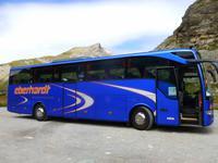 unser Bus auf dem Julier-Pass...