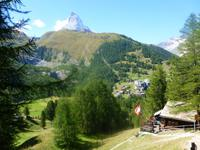 Wanderung von der Riffelalp nach Zermatt...