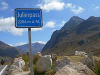 Engadin-Rundfahrt (Julier-Passhöhe)