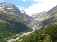 Fahrt mit dem Bernina-Express (Palügletscher)