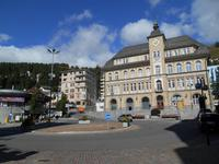 Engadin-Rundfahrt (Schulplatz in St. Moritz)