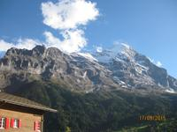 22 Herrliches Wetter über Grindelwald