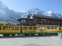 Ankunft Station Kleine Scheidegg