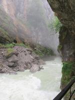Eiger, Mönch, Jungfrau - Besuch der Aareschlucht