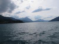Eiger, Mönch, Jungfrau - Schifffahrt auf dem Thunersee -