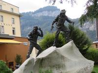 Meiringen - Bergführer-Denkmal