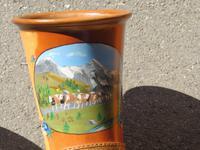 010 Ausflug ins Emmental - beim Alphornbauer -