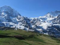 063 Ausflug zum Jungfraujoch - auf der Kleinen Scheidegg - Mönch, Jungfraujoch und Jungfrau