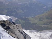 Ausblicke vom Jungfraujoch/Sphinx-Terrassen