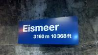 Jungfraujoch, Fotostopp  am Eismeer