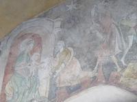 Thun - Fresken aus dem 14. Jahrhundert an der Stadtkirche